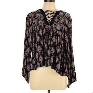 LORD & TAYLOR Design Lab Boho blouse S